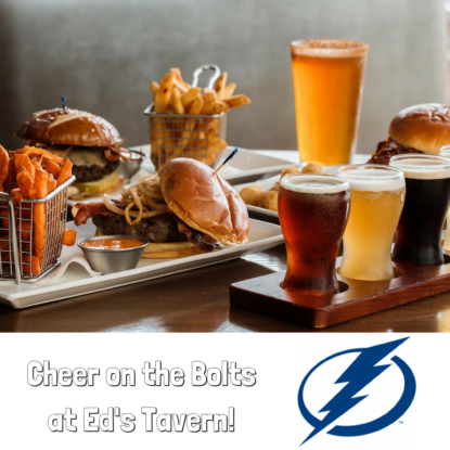 Watch Tampa Bay Lightning Games at Ed's Tavern in Lakewood Ranch