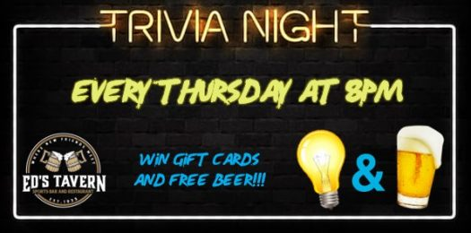 Pop Trivia Thursday at Ed's Tavern