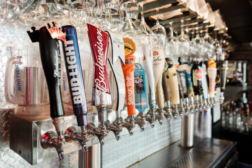 Eds Tavern Beer Taps