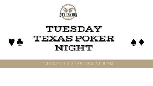 Tuesday Texas Poker at sports bar lakewood ranch