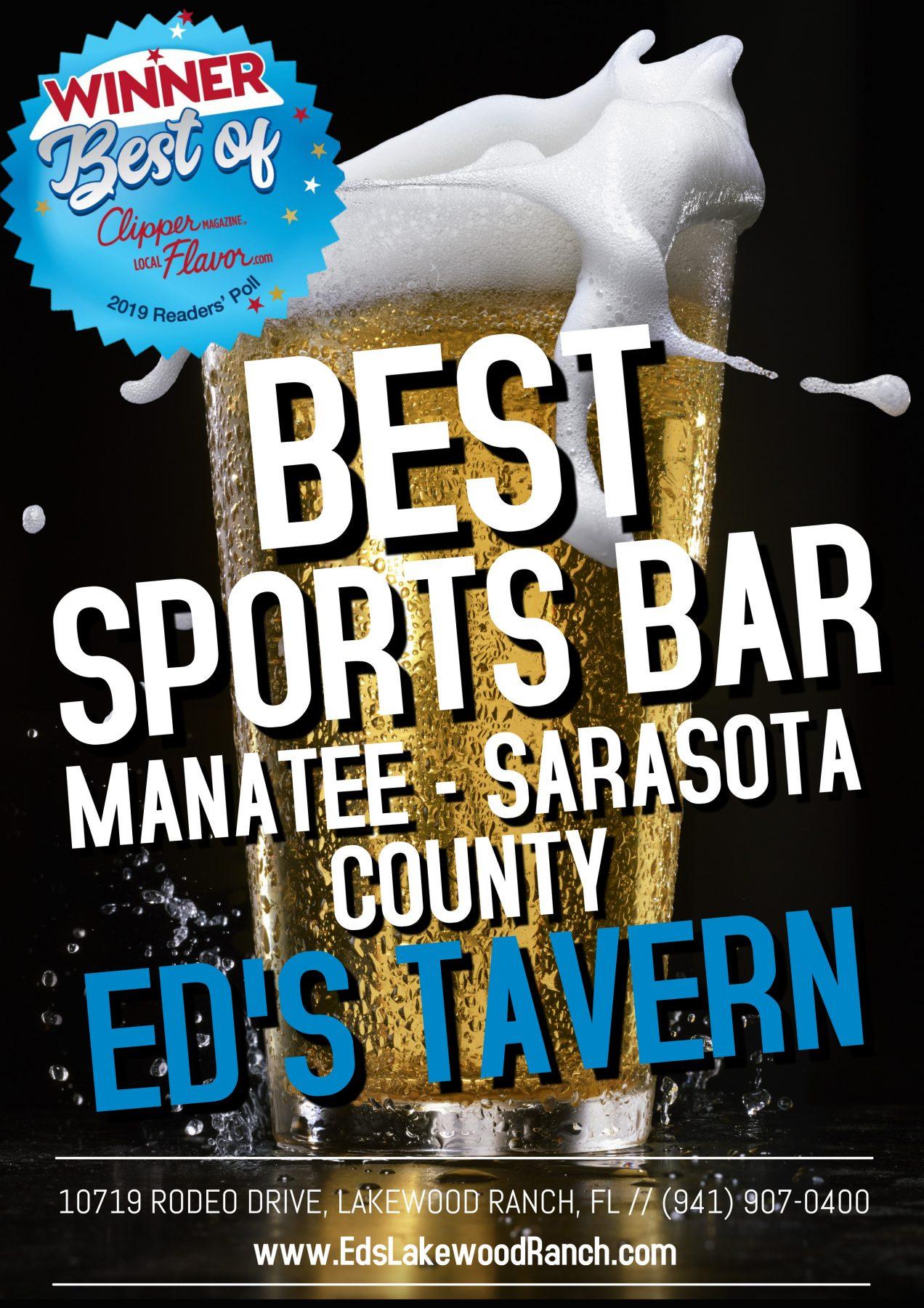 best sports bar near bradenton lakewood ranch