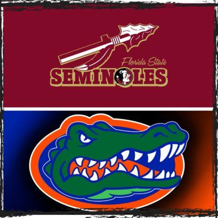 FSU/UF College Football Rivalry Games